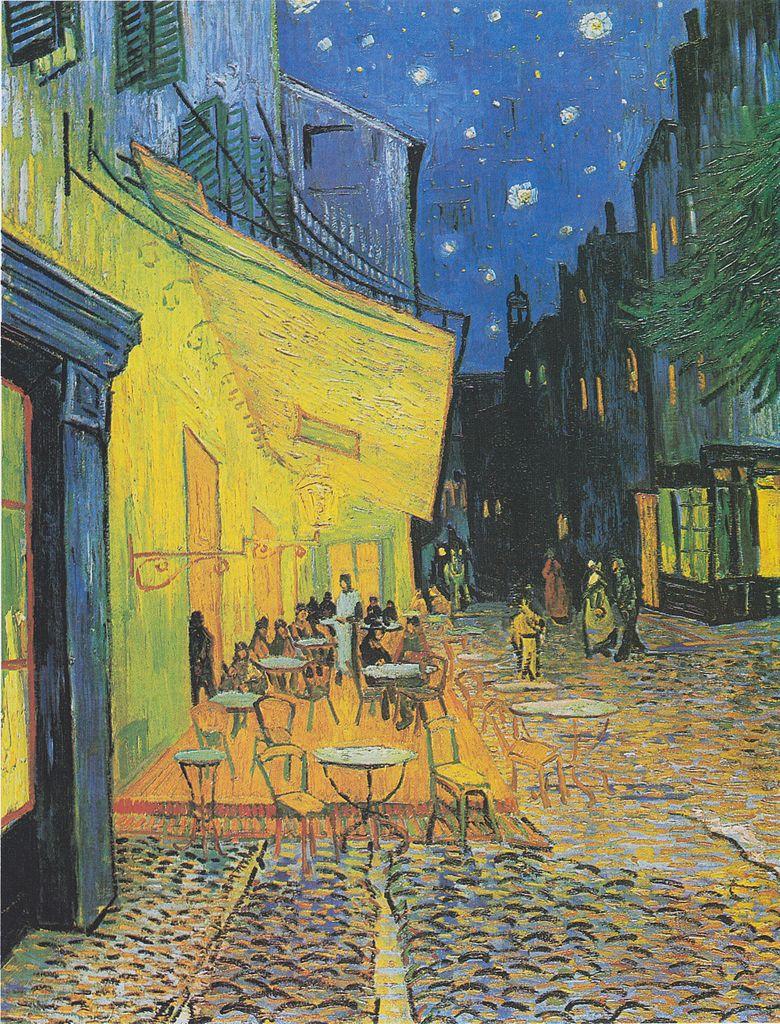 1888- Vincent Van Gogh - Εξώστης καφενείου τη νύχτα