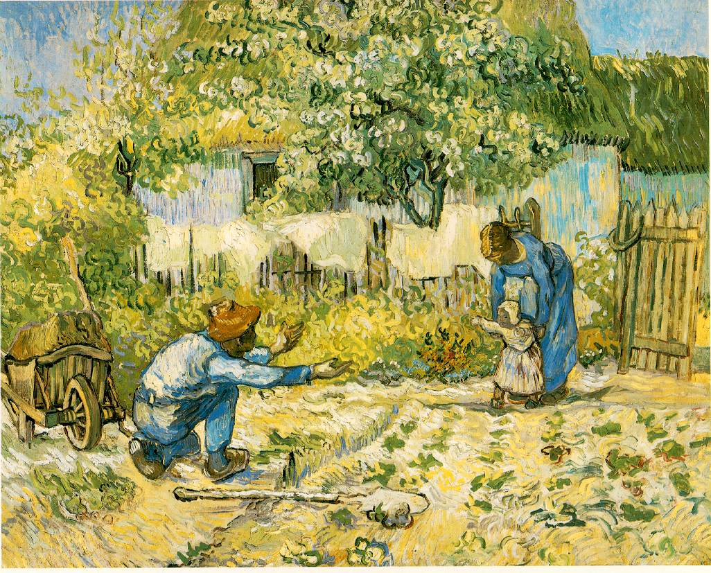 Vincent Van Gogh - First Steps (1890)